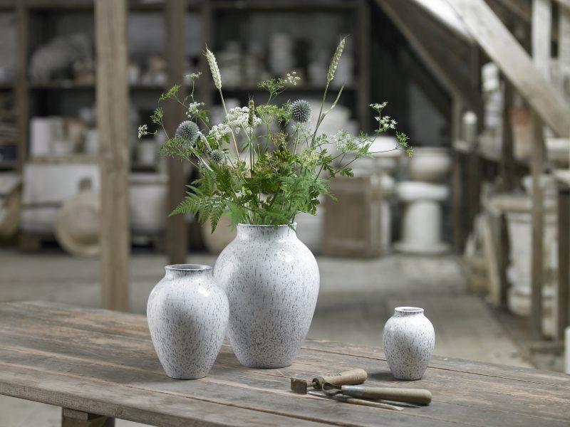 Knabstrup vasen fra Knabstrup keramik