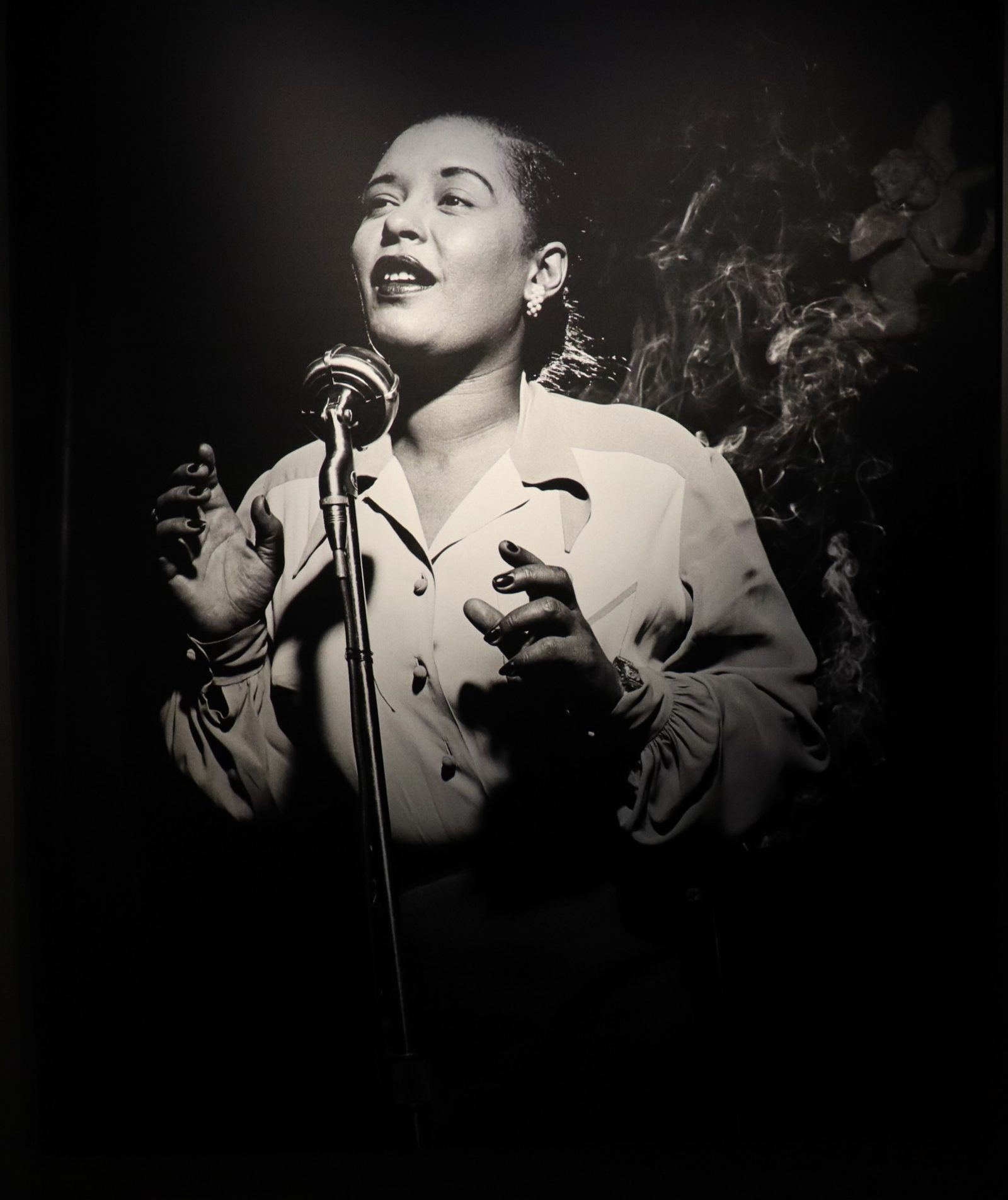 Jazz portrætter af fotograf Herman Leonard på Frederiksborg Slot