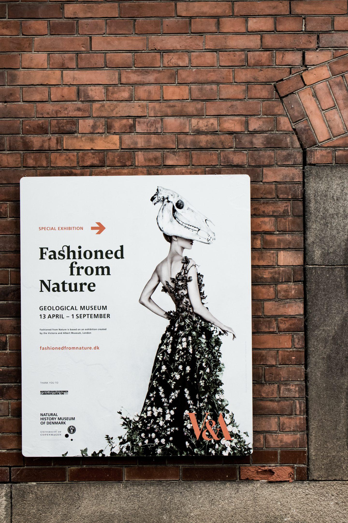 Fashioned from Nature – Tankevækkende udstilling om forholdet mellem mode og natur