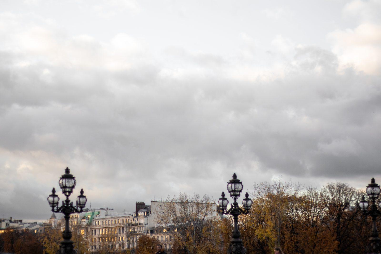 Sen efterår i Paris