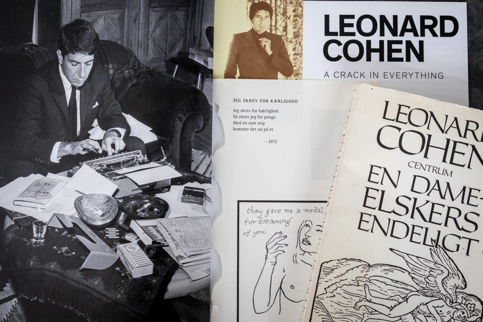 Leonard Cohen på Gl. Strand
